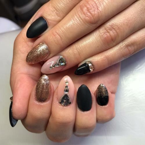 musta vaalea timantti